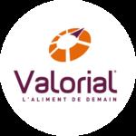 logo <span>Valorial</span> l'aliment de demain